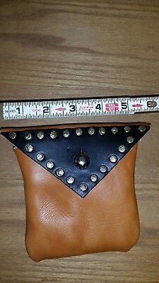 medieval leather pouch, renaissance festival, costume, cosplay, Larp