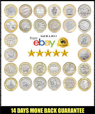 £2 Coins 1997 to 2017 2 pounds Choose your Year two pound Commonwealth Free Post
