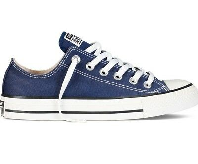 Converse CHUCK TAYLOR ALL STAR OX Navy White Skate M9697 (109) Unisex Shoes a86c73938
