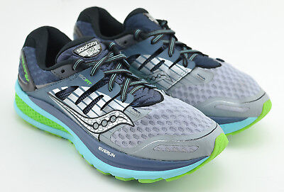 Details about SAUCONY Triumph ISO 2 Grey Aqua Blue Lime Green Running Shoes NEW Womens Sz 6
