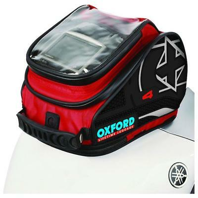 Oxford Tank Bag X30 Magnetic Red PRE-SEASON CLEAROUT!