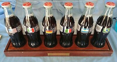 Qty 6 Cased 1994 Coke Coca-Cola World Cup Soccer USA Mexico Germany Italy Brazil