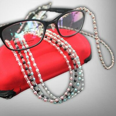 Fashion Bead Eyeglass Cord Glasses Anti-skid Eyewear Spectacles Chain Holder NEW