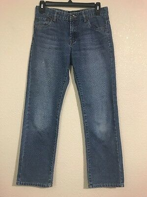 Junior's Lucky Brand Billy Straight Jeans, size 14 Medium Wash Free Shipping