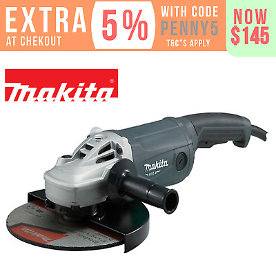 "Makita Angle Grinder 230mm (9"") 2000W Cord 9 inch M9001G"