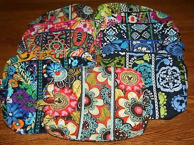 18932add40 Vera Bradley LARGE COSMETIC case travel bag makeup purse pouch 4 tote  backpack
