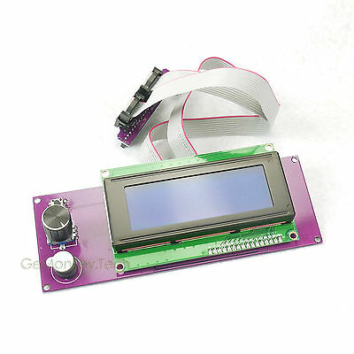For Reprap RAMPS1.4 2004 LCD Display Controlle With Adapter Prusa 3D Printer