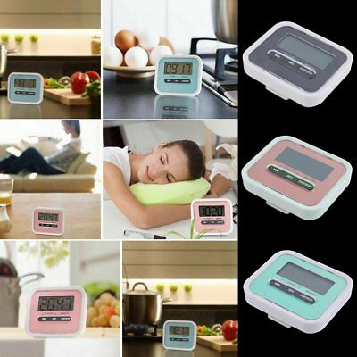 Magnetic Digital LCD Kitchen Timer Count Up Down Egg Cooking Chef Tool GT