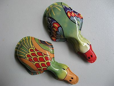 Tin Clickers Indian Duck Pk Of 2  Party Favour Traditional Noisy Fun