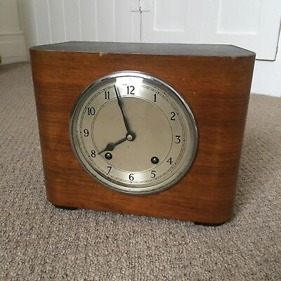 Vintage Art Deco Garrard Mantle Clock