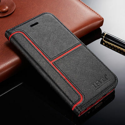 Magnetic Leather Wallet Case Flip Stand Cover For Samsung S10 S9 S8 Plus S7 S6