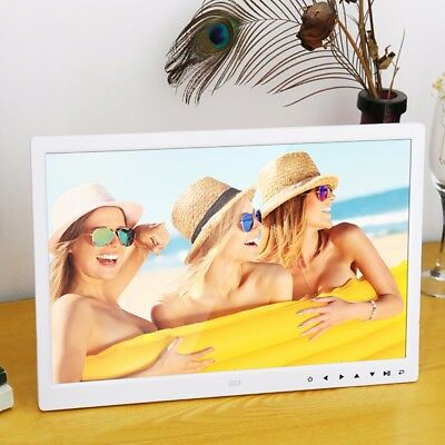 15'' High Definition Ultra-thin With Motion Sensor Digital Photo Frame Remote F1