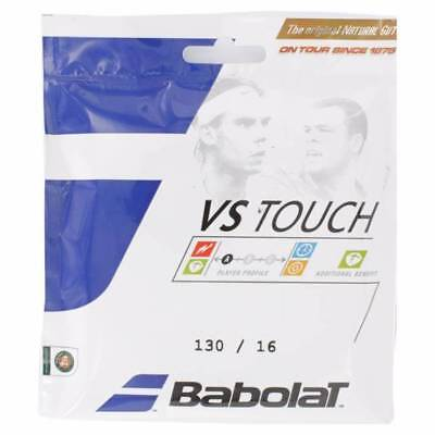 4x 6m Sets of Genuine Babolat VS TOUCH Natural Gut 1.30mm Tennis String