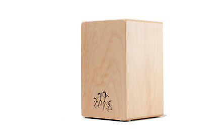 "B-Ware (kleine Holzfehler): Cajon ""ROCK/POP"" Made in GERMANY+ Kurzlehrgang"