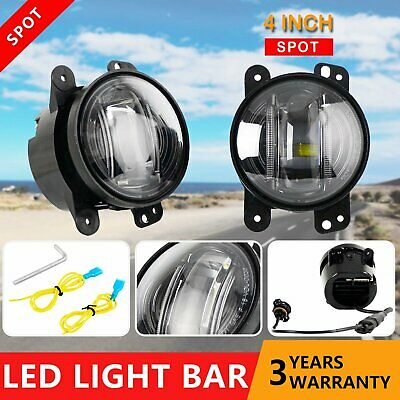 Pair 30W ARB Bullbar Led Fog Driving Lights Offroad 4×4 Truck Lamp For JEEP
