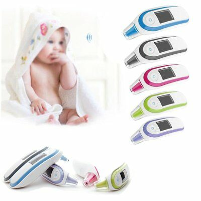 LCD Digital IR Non-contact Infrared Ear Forehead Medical Baby Adult Thermometer