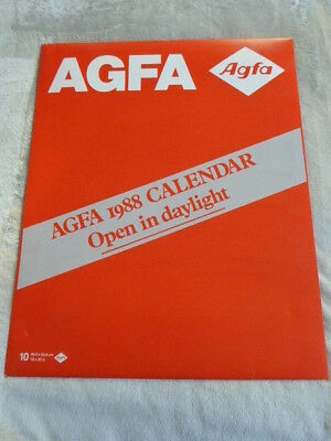 Agfa 1988 Calendar. Black and White images Ray Humphrey