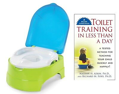 Summer Infant My Fun Potty with Toilet Training in Less Than a Day Guide Book,