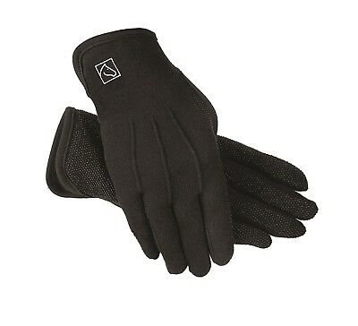 (6/Small, Black) - SSG Slip On Gripper Glove (Style 5300). Free Shipping