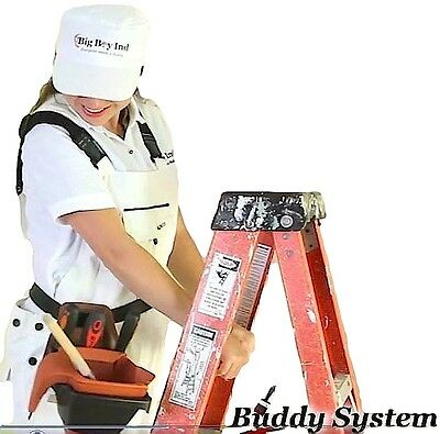 Buddy System Belt Attached Paint Bucket Holder w/1 Quart Dripless Paint Pail