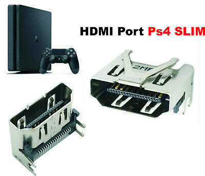 Connettore PS4 Slim Pro Console Socket HDMI Sony Playstation 4 V2 sped. pro 1