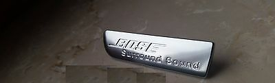 Audi Exclusive Emblem Q7 4L, A6 4F, A4, A6 BOSE Surround Sound Logo, VW, Skoda