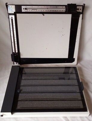 """LPL Easel Mask (8"""" x 10"""") & Paterson Contact Proof Printer 35mm (10"""" x 8"""")"""