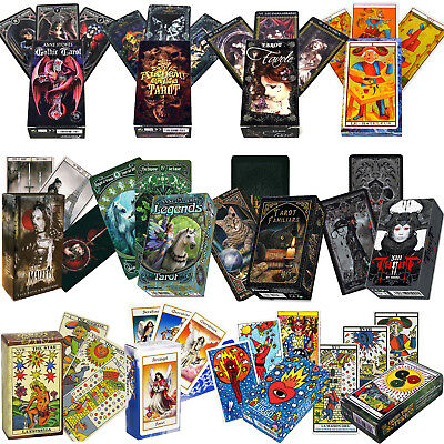 TAROT CARDS DECKS by FOURNIER MARSEILLE DIVINATION ESOTERIC FANTASY NEW