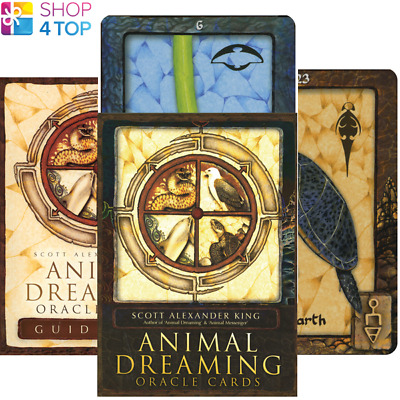 Animal Dreaming Oracle Deck Cards Esoteric Fortune Telling Blue Angel New