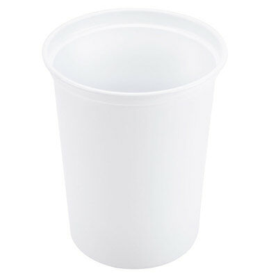 Pro-Kal Microwaveable 32 oz. White Polypropylene PP Deli Container 50 Count NEW
