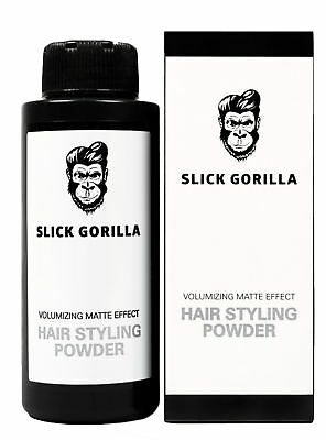 Slick Gorilla Hair Styling Texturising Powder 20g Men Women Unisex Haircare