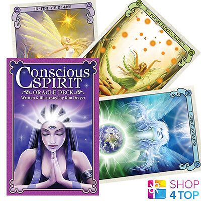 Conscious Spirit Oracle Deck Cards Esoteric Telling Kim Dreyer New