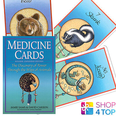 Medicine Deck Playing Cards Oracle Esoteric Animals Book Set Us Games New