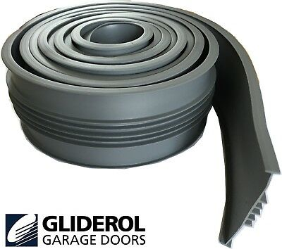 Genuine GLIDEROL Garage Door Bottom Weather Seal Trim Draught Excluder ALL SIZES