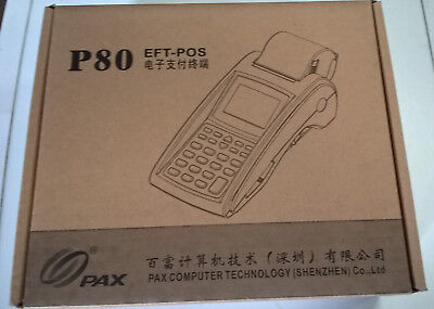 Pax P80 Eft-Pos (Point Of Sale) Terminal