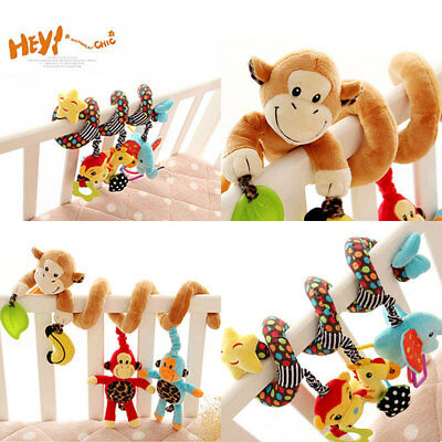 Sozzy Musical Star Multi-functional Animal Hanging Bed Bell Baby Educational Toy