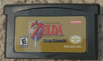 Legend of Zelda: A link to the past & Four Swords Game Boy Advance GBA