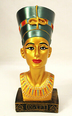 Authentic Real Egyptian Queen Neferitit Statue Bust Figurine Ancient Egypt Gift