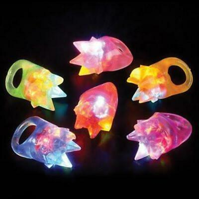 Spike Flashing Ring (Pack of 12)