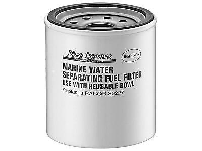 """Fuel Gas/Water Separator Replacement Filter Only 1""""-14UNS (Replaces Racor S3227)"""