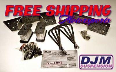 ATV, Side-by-Side & UTV Parts & Accessories 2007-2014 Toyota Tundra 5 Rear Complete Lowering Kit by DJM ATV, Side-by-Side & UTV Brakes & Suspension