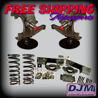 "1992 - 1999 C2500 / C3500 Complete DJM 5"" Front / 7"" Rear Lowering Kit by DJM"