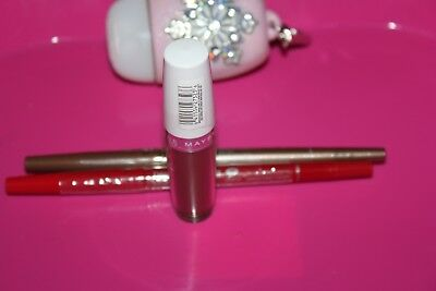 Maybelline New York Super Stay 14 Hr Lipstick, CONSISTENTLY TRUFFLE 040 + GIFT