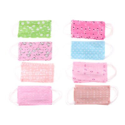 New 10Pcs Cute Disposable Medical Surgical Dust Ear Loop Face Mouth Women Mask L
