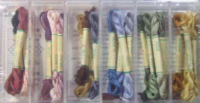 Silk Heritage Collection Kreinik 1/2 Skeins 25 Thread Collection 6 Ply Floss