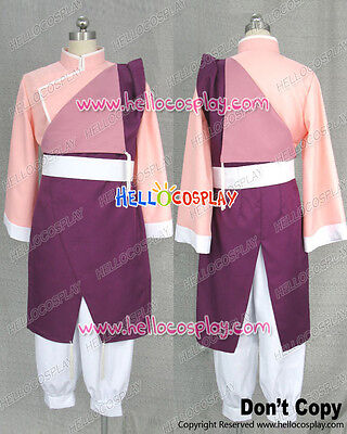 Fullmetal Alchemist Cosplay May Chang Pink Kung Fu Uniform Costume H008