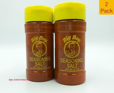 Bob's Big Boy Restaurant Seasoning Salt Authentic Original Fresh 2 Pack