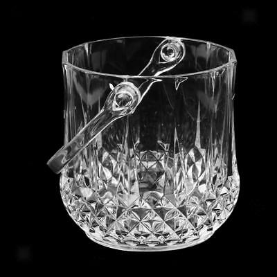Home Bar Craft Acrylic Ice Bucket Party Drinks Pail Cooler Ice Bucket