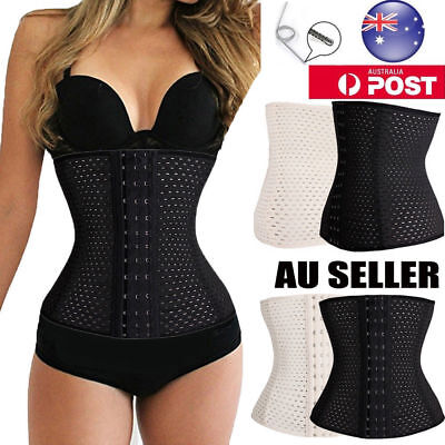 AU New Waist Trainer Vest Workout Cincher Body Slimming Weight Loss For Womens