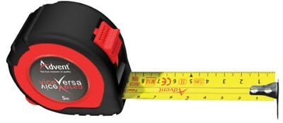 ADVENT UK 5m Metric Only Dual Vice Versa Double Sided Pocket Work Tape Measure